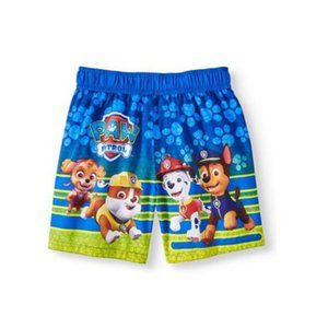 PAW Patrol All Over Paw Print Swim Trunks